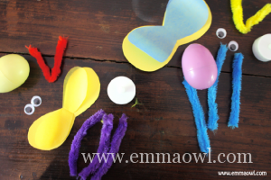 Fireflies with plastic Easter Eggs-01