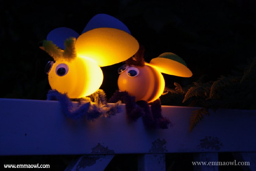 Fireflies with plastic Easter Eggs-04