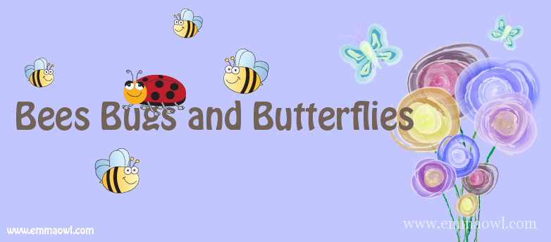 Bees Bugs and Butterflies-01