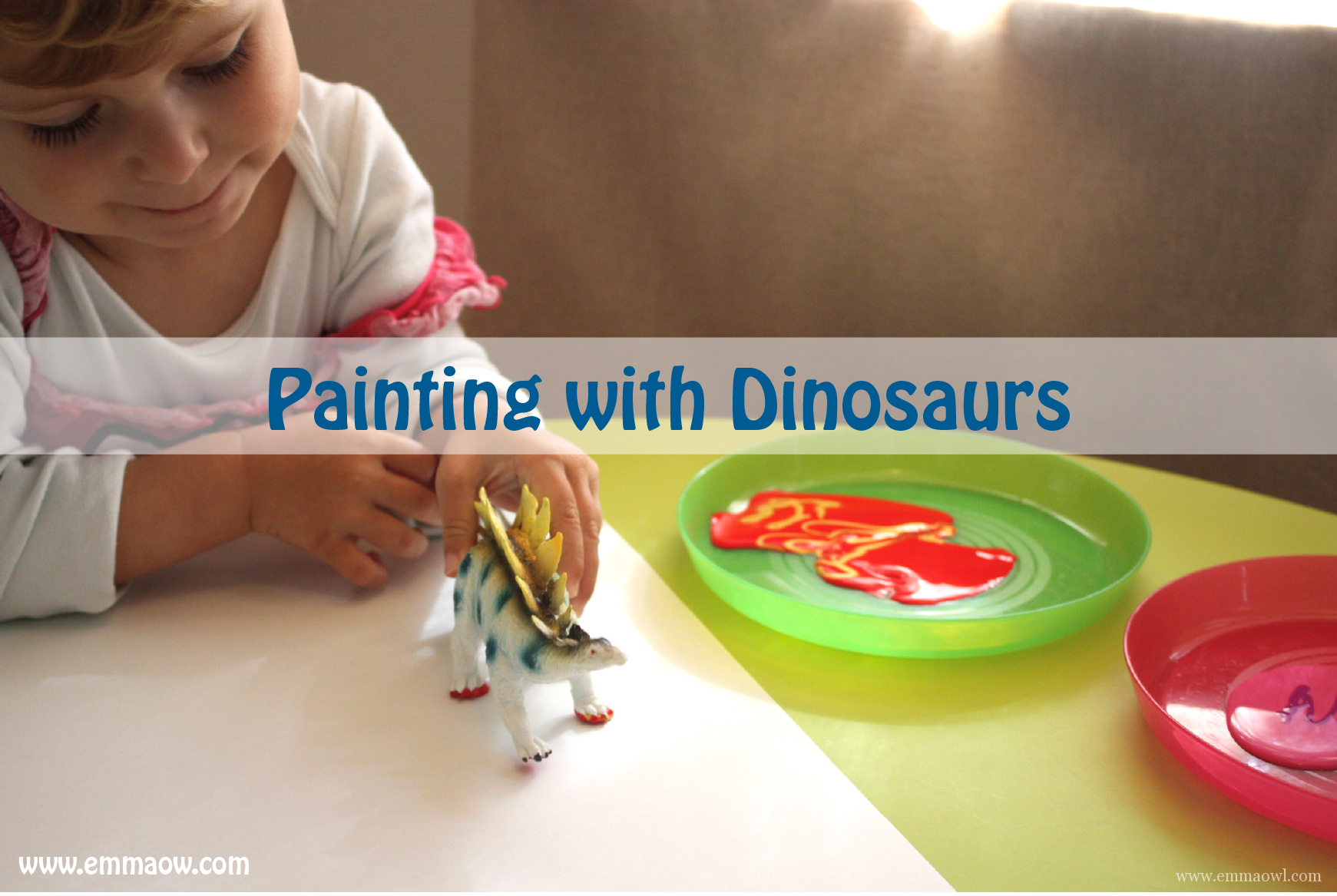 Dinosaur Feet Painting-07