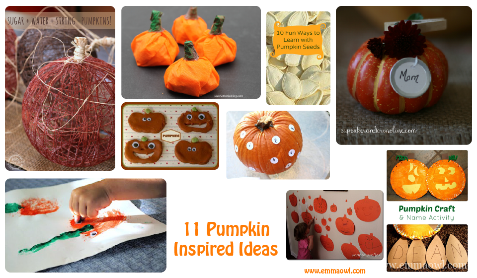 11 Pumpkin inspired ideas