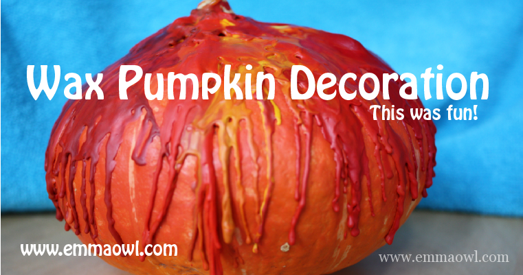 Wax Pumpkin Decoration-07