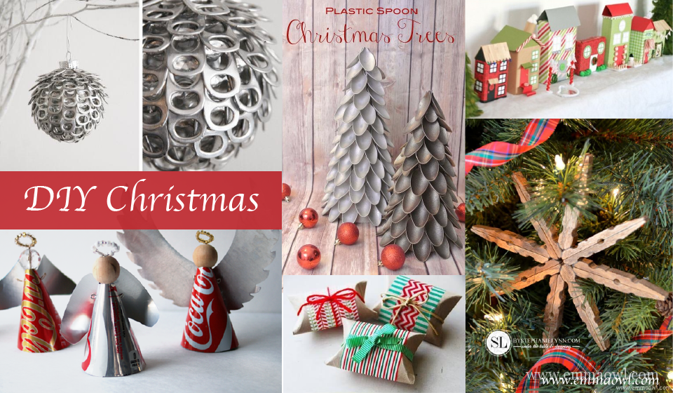 DIY Christmas! These clever ideas will save you time and money!