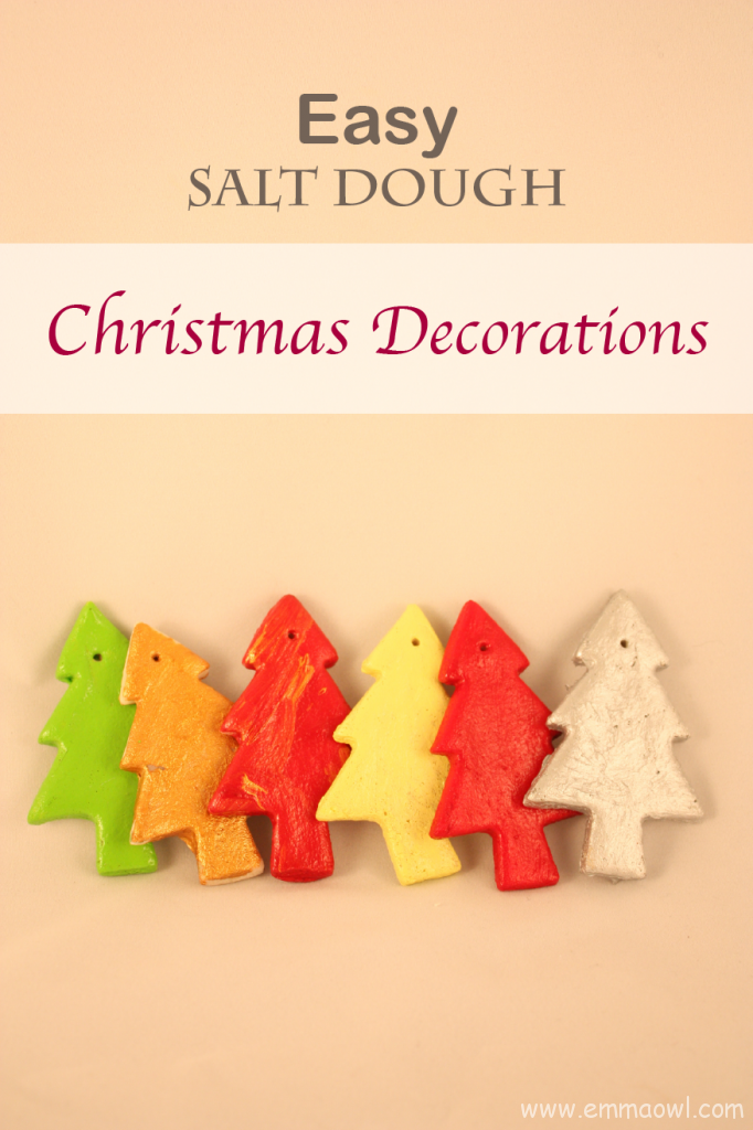 Easy Salt Dough Christmas Decorations