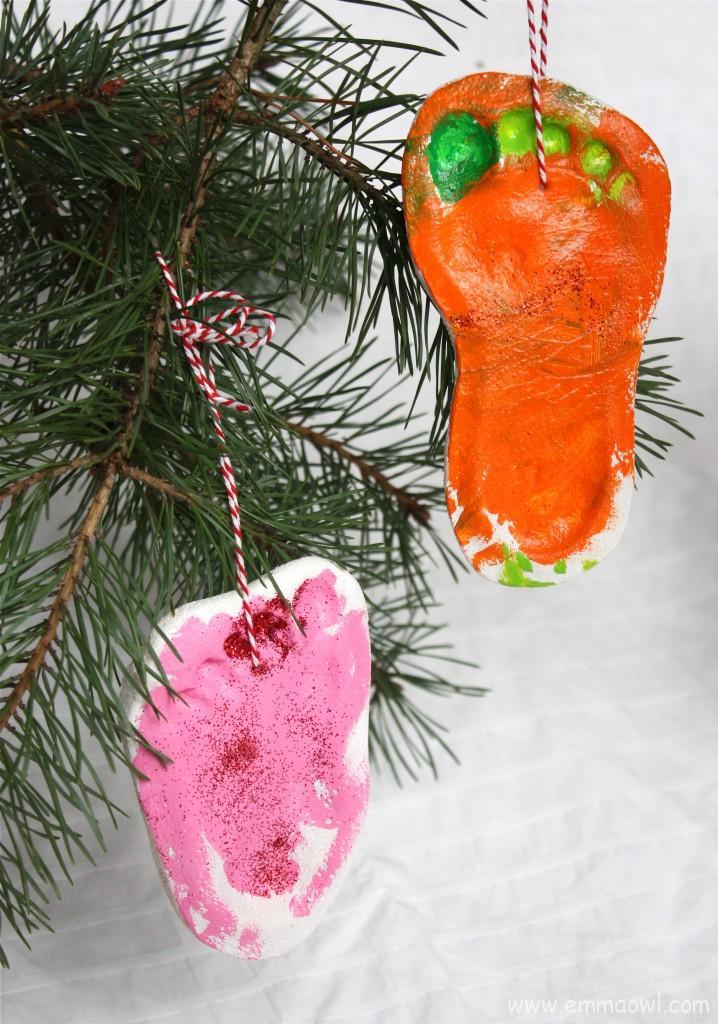 DIY Christmas Decoration Keepsake
