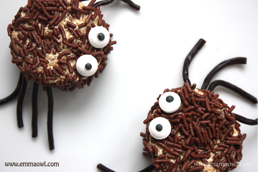 Hairy Halloween Spider Bread-01