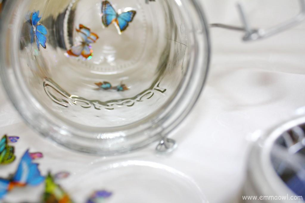 Solar Panel Butterfly Light Jar. Beautiful Recycled Glass Jar Project!