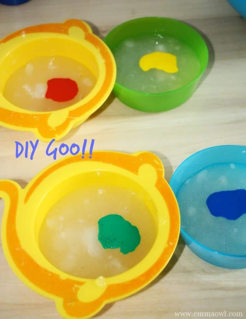 Sensory Play Make Your Own Slime Play Fun Emma Owl