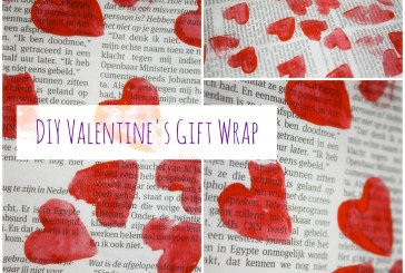 Make your own Valentines gift wrap