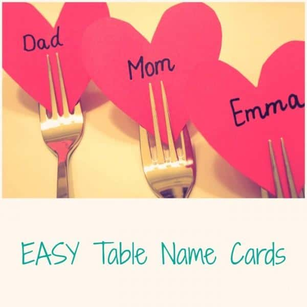 Valentines table name cards emma owl for Table 52 cards 2014
