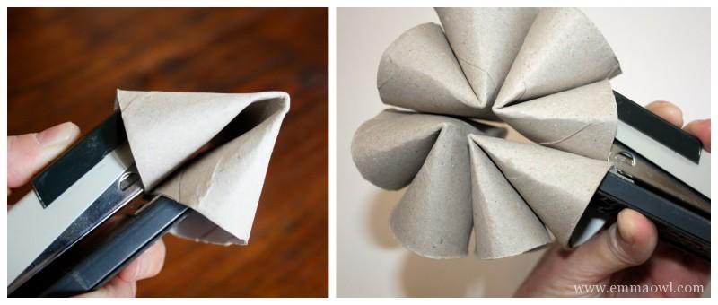 Toilet Roll Craft Flower