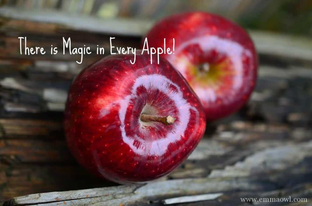 there is magic in every apple