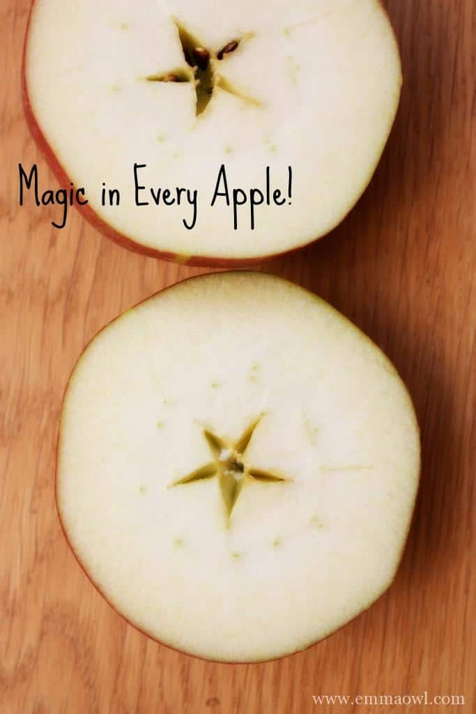there is magic in every apple.