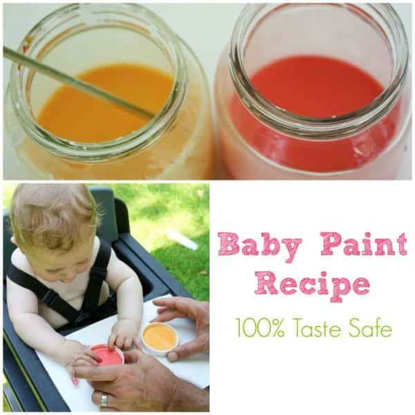 Baby Paint Recipe