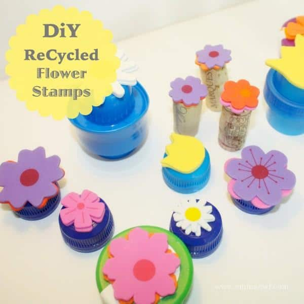 DiY ReCycled Stamps