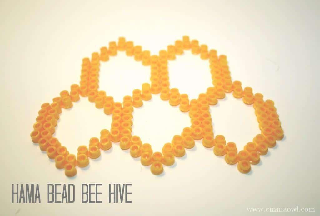 Hama Bead Bee HIve