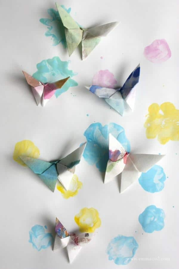Make your own flower stamps