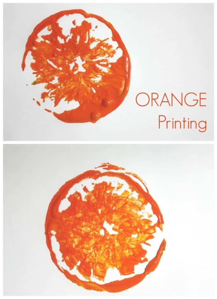 Printing with Oranges