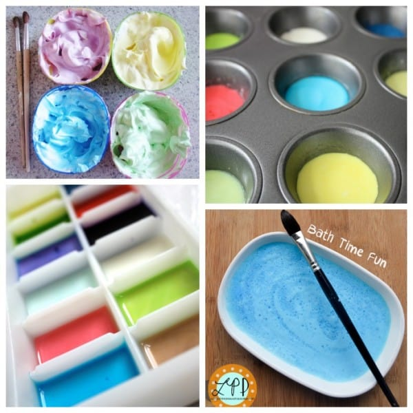 Bath Time Paint Recipes