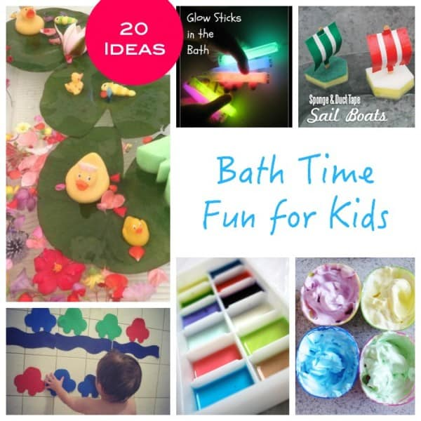 Bath Time fun for Kids