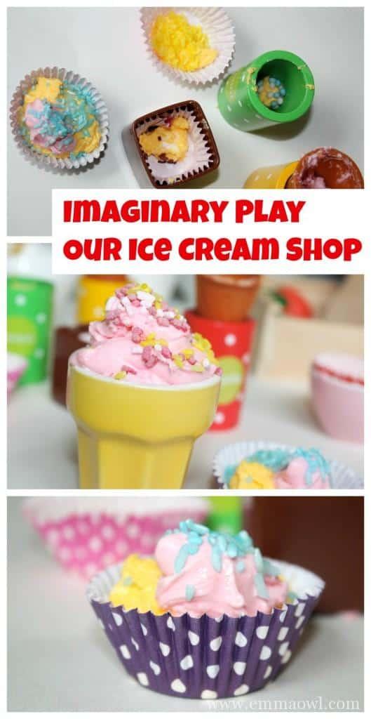 Imaginary Play Ice Cream Shop