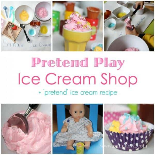 Pretend Play Ice Cream Shop