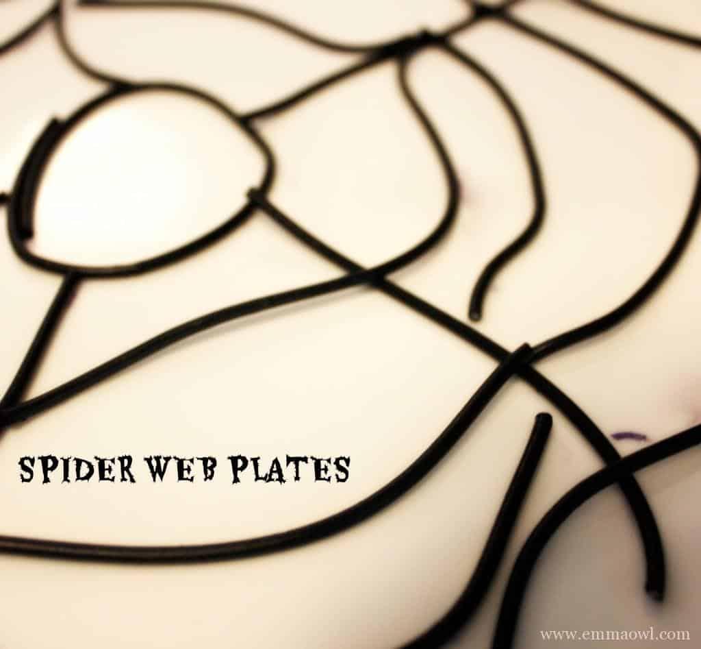 Spider Web Plates