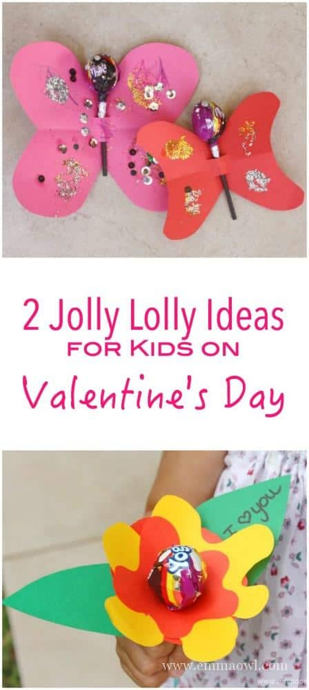 2 Wonderfully Lovely Ideas to spoil your Kids on Valentines Day! A great valentines Day Craft project for them to make!