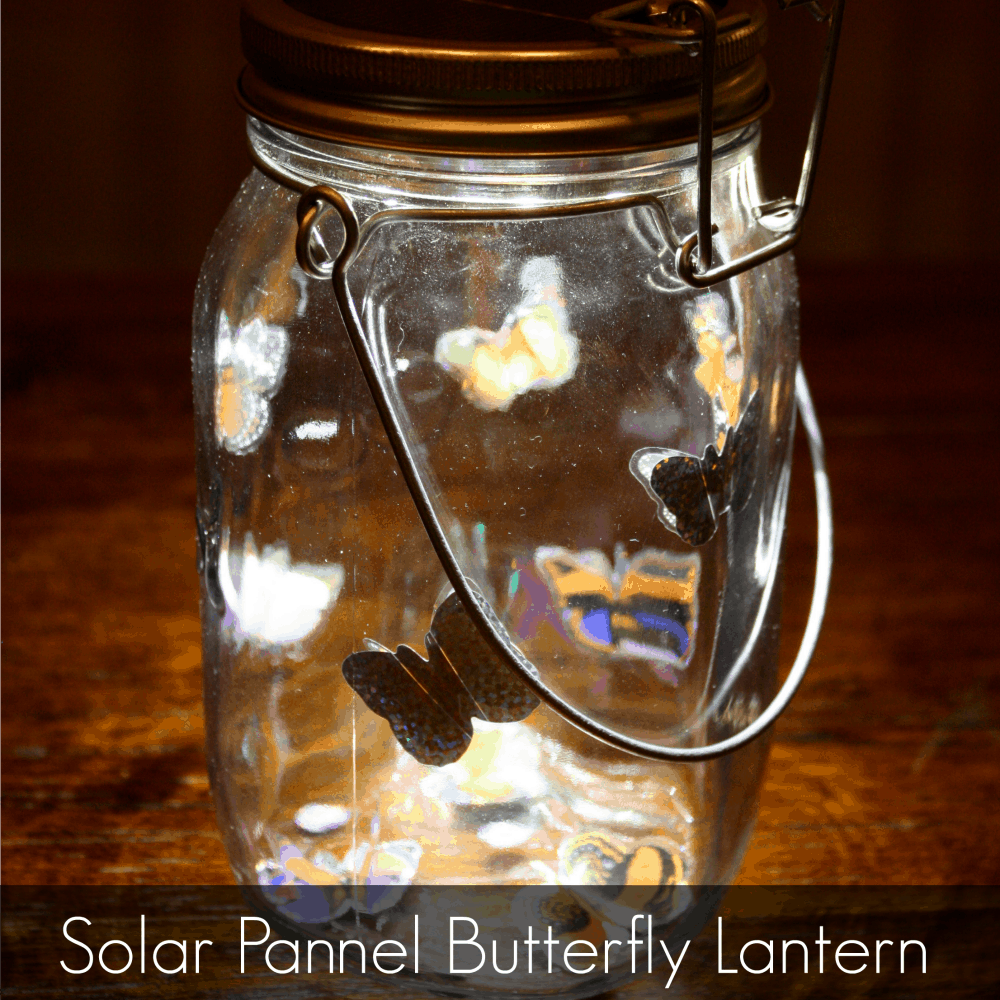 Mason Jar Night Light For Boys