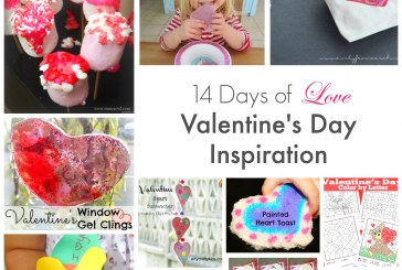 14 Days of Love. Valentine's Inspired Ideas and Inspiration