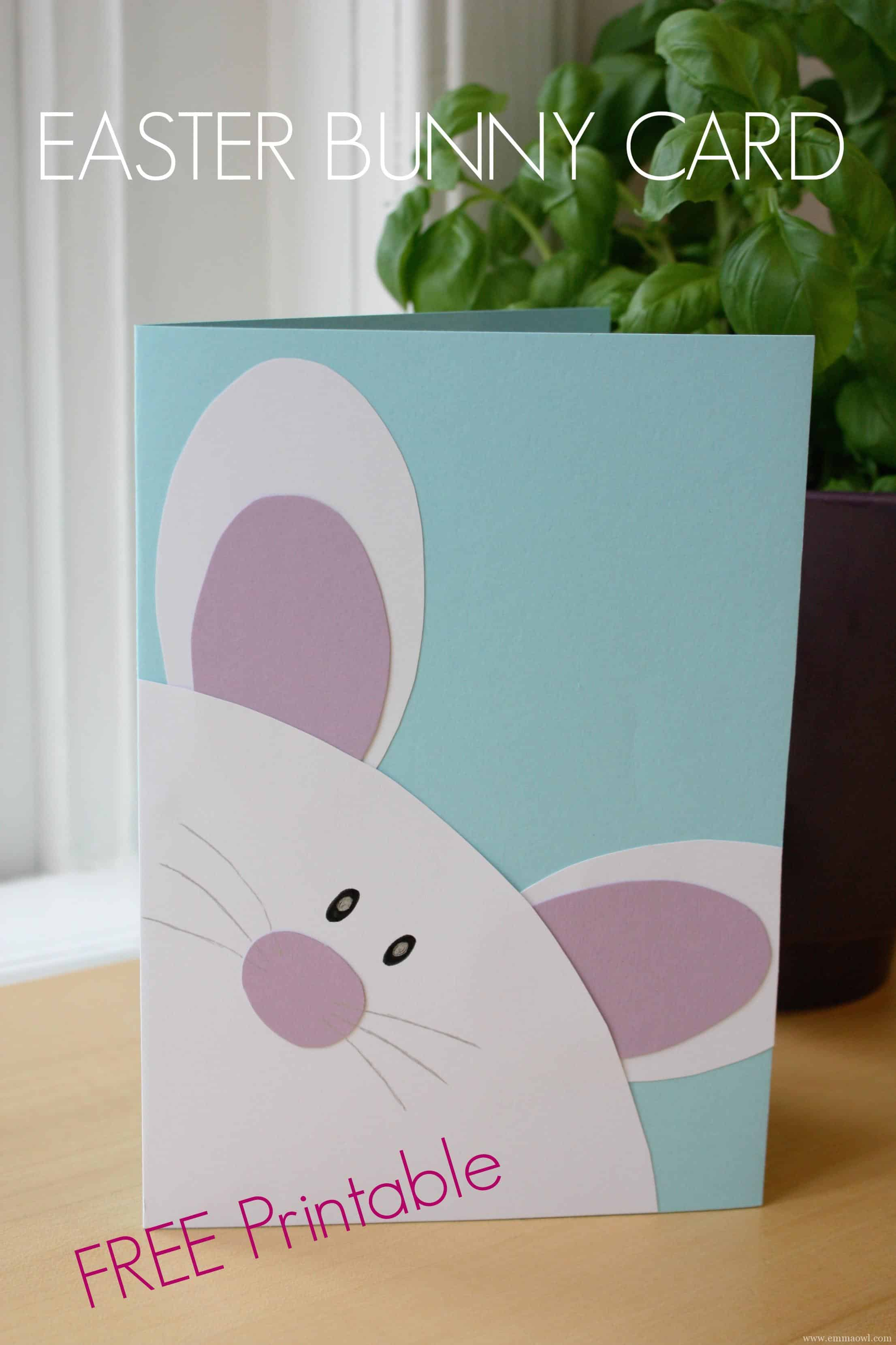 Easter postcard template domosens easter postcard template negle Choice Image