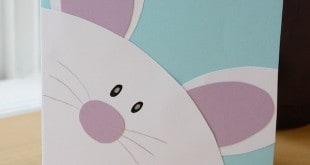 Easter Bunny Card Free Printables