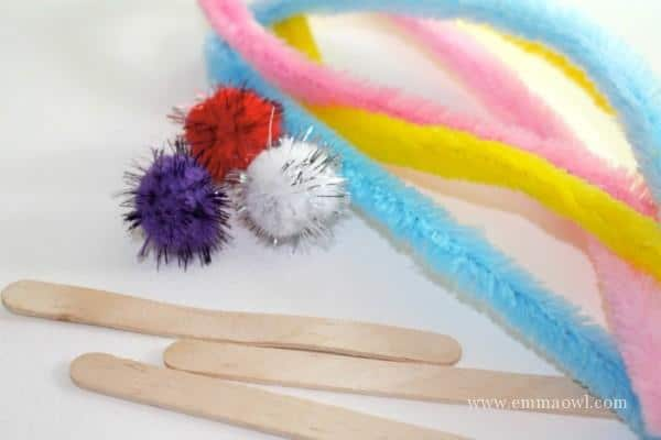 materials for easter kids craft