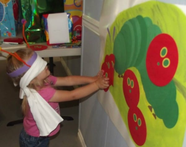 very hungry caterpillar party games