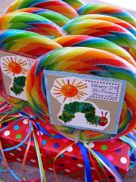 The Very Hungry Caterpillar Party Favors - follies