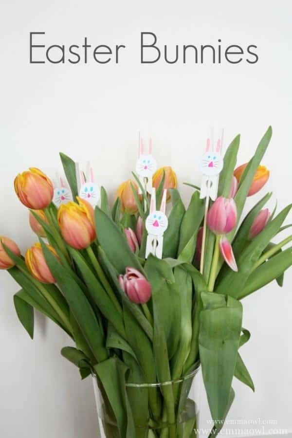 Easter-Bunnies-Made-with-Clothing-Pegs-683x1024