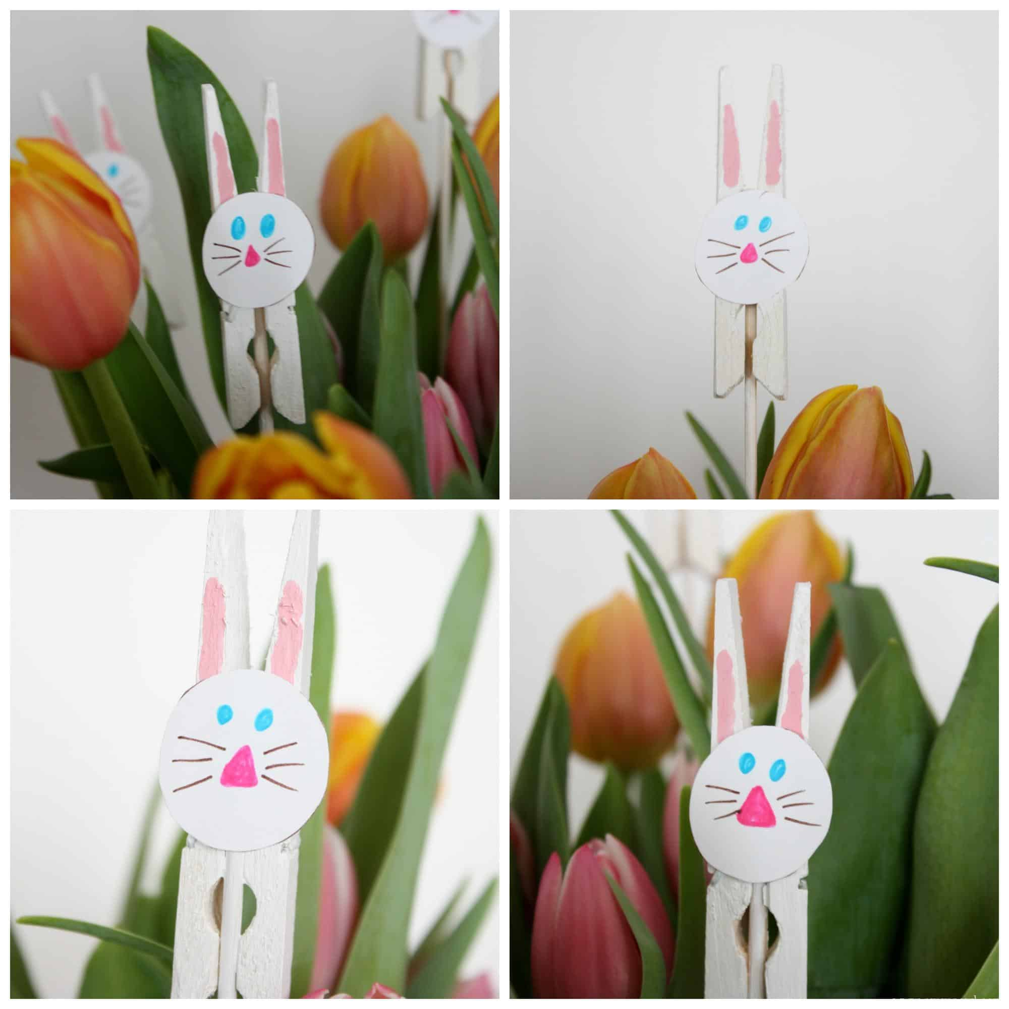 clothing peg easter bunnies emma owl