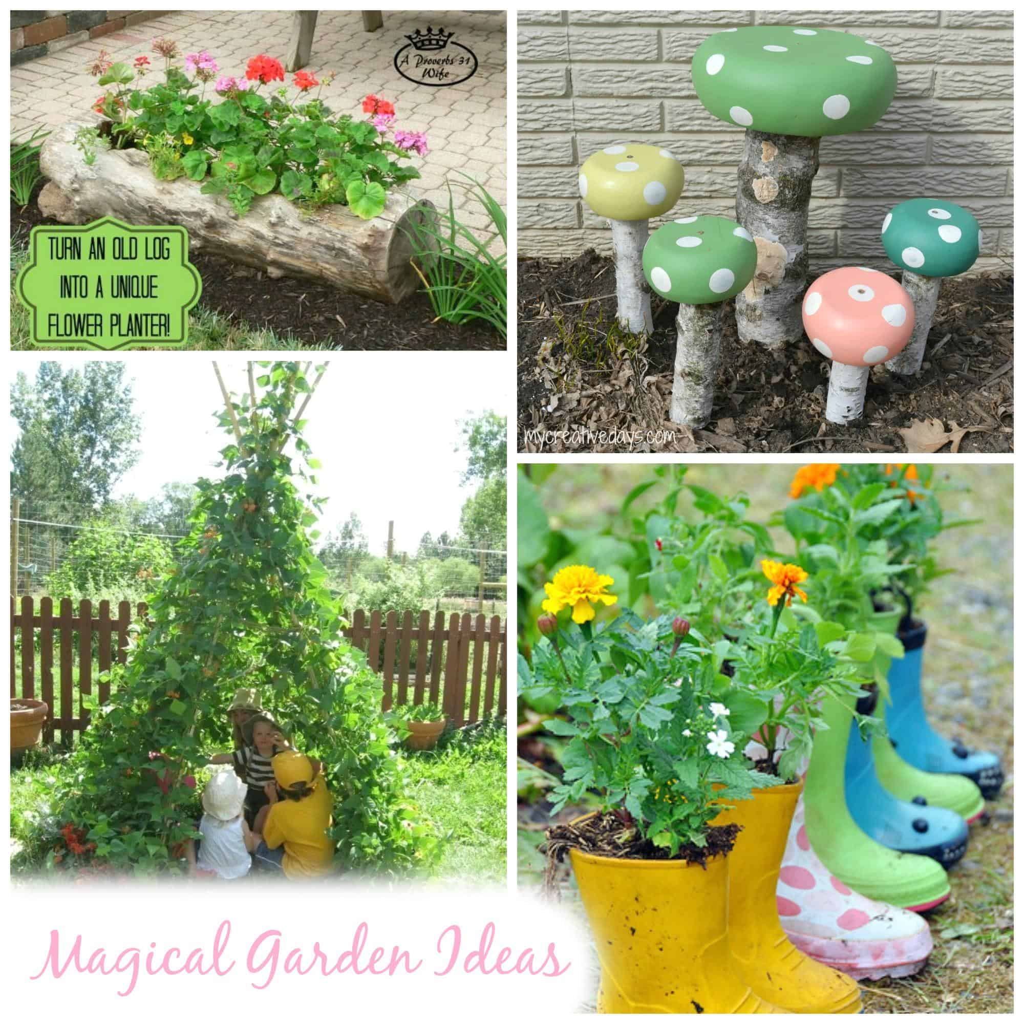 Magical garden inspiration great diy garden ideas emma owl for Great garden ideas
