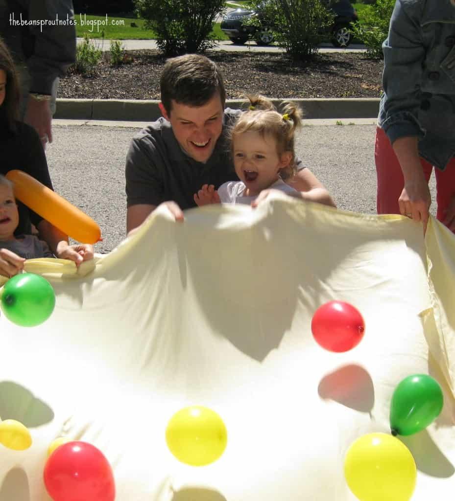 The Very Hungry Caterpillar Ballon Popcorn game