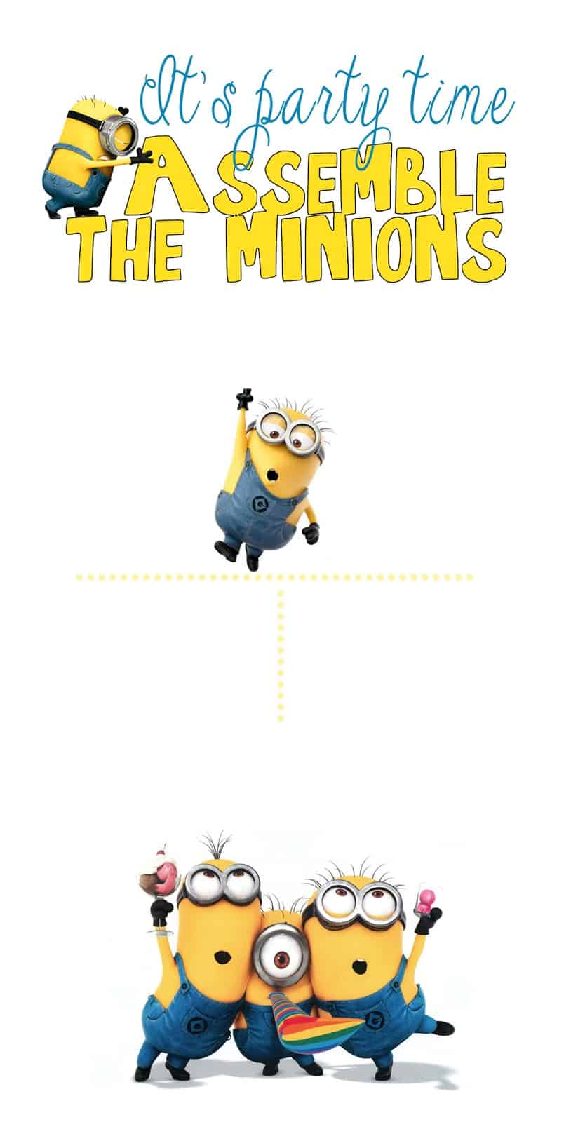 30 Minion Ideas Assemble The Minions Pelitabangsa Ca