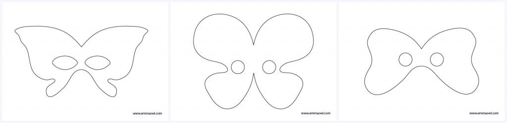 Free Butterfly Mask Printables