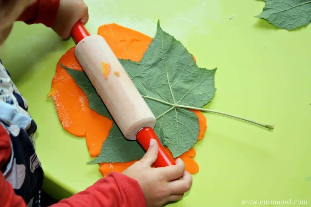 How to make an autumn fall leaf bowl
