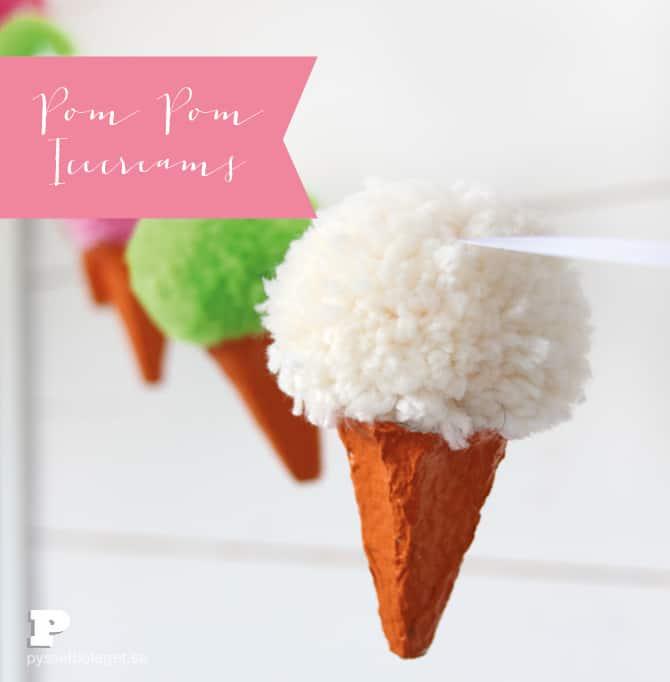 Мороженое украшение своими руками