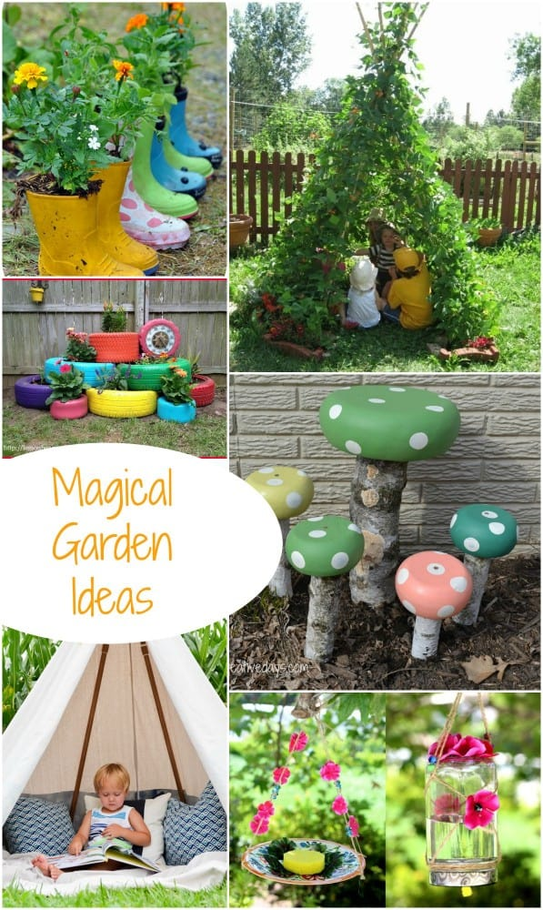 Magical garden inspiration great diy garden ideas emma owl Kids garden ideas