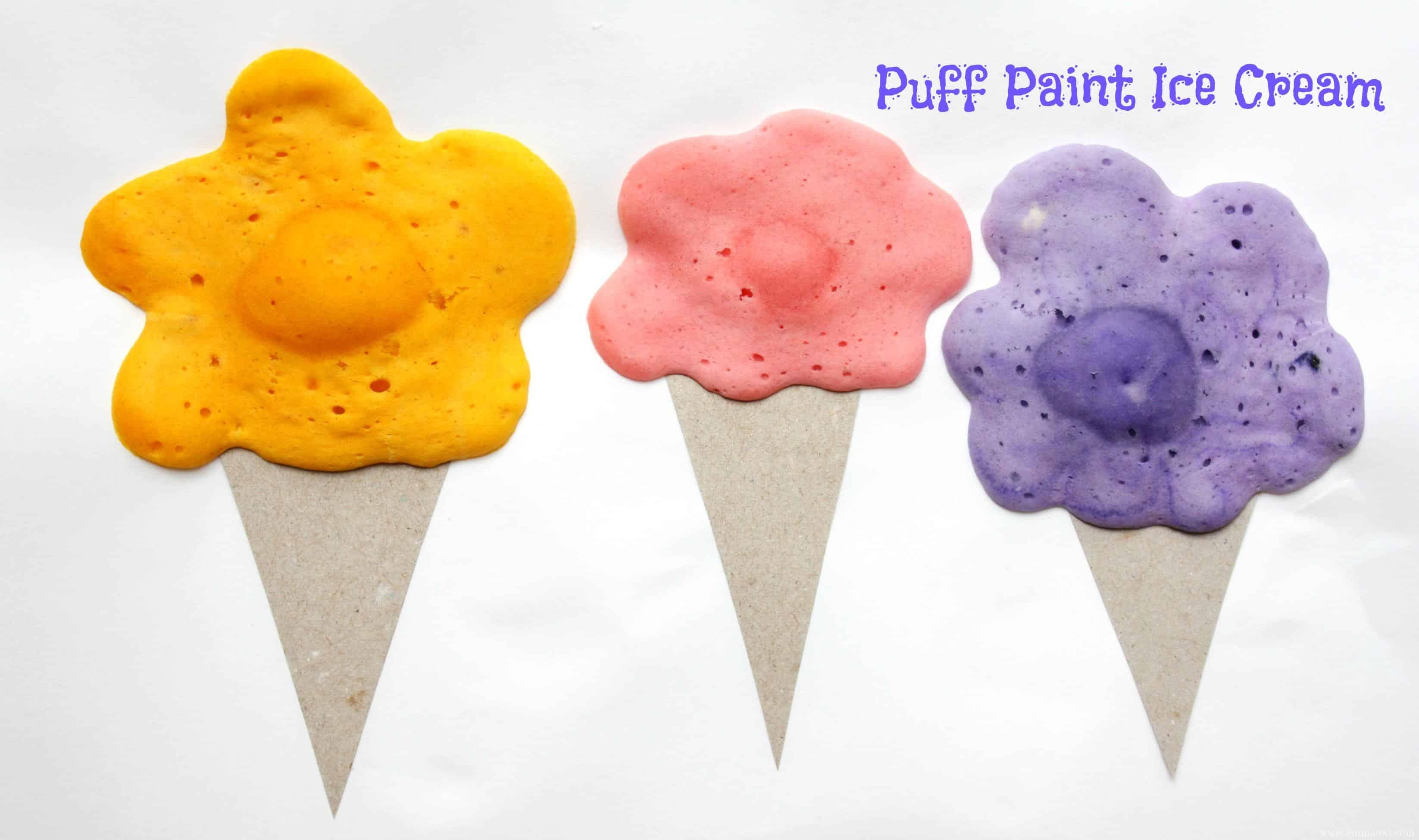 Puffy Paint Ice Cream - PELITABANGSA .CA