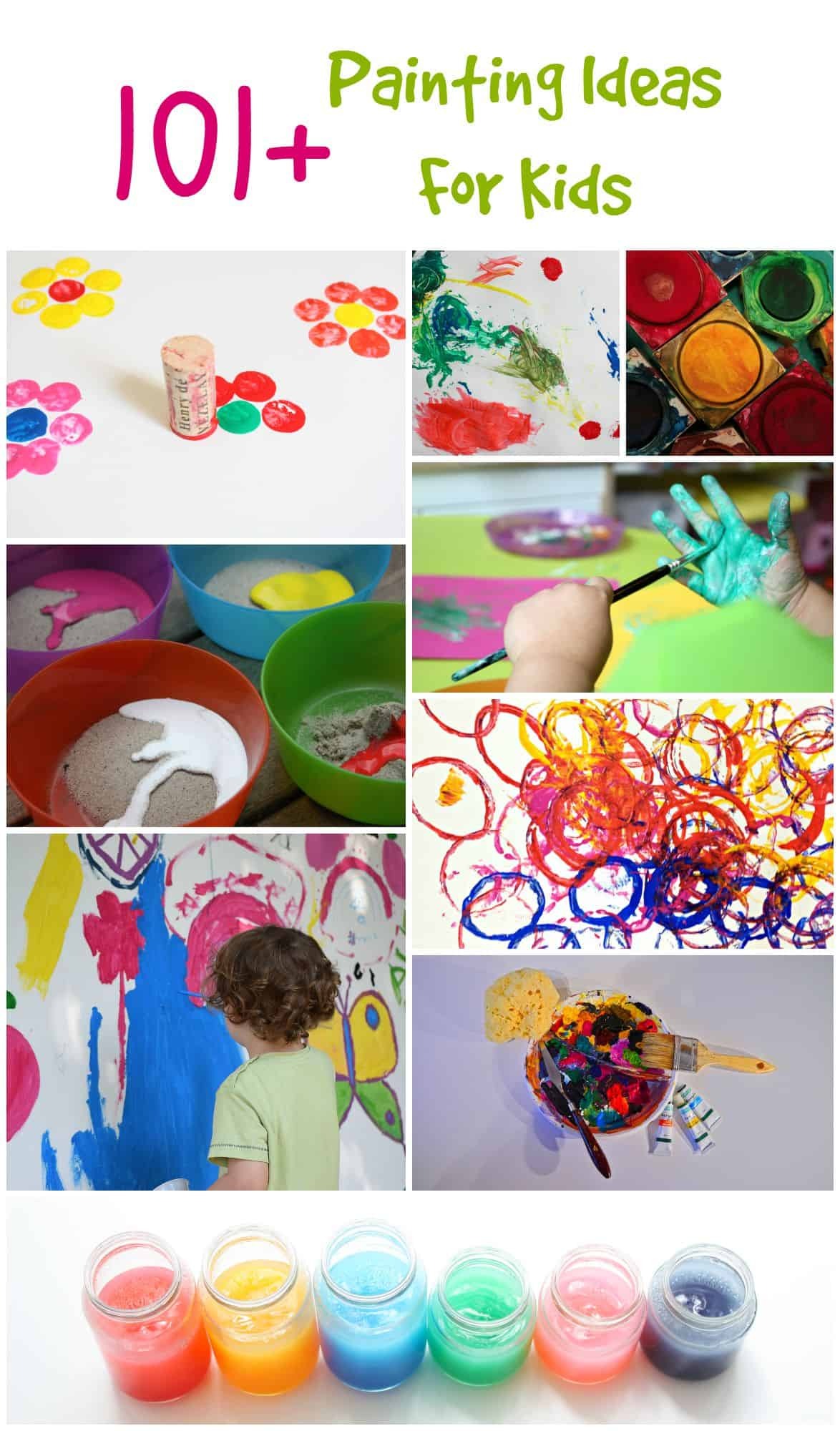 101 Painting Ideas for Kids