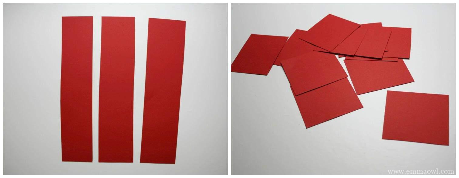 How To Make A Paper Flower Step 1 Pelitabangsa
