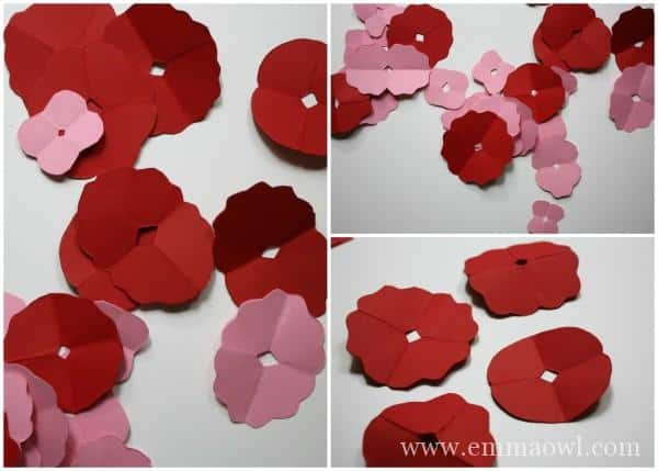 How to make a paper flower - the easy way