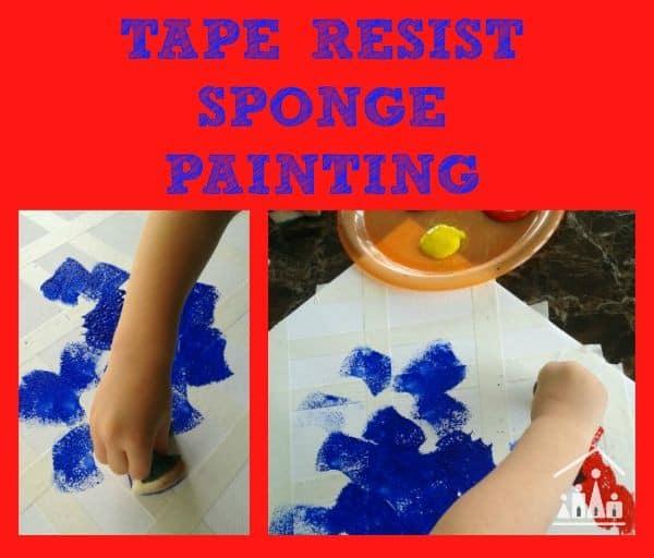tape-resist-sponge-painting-600
