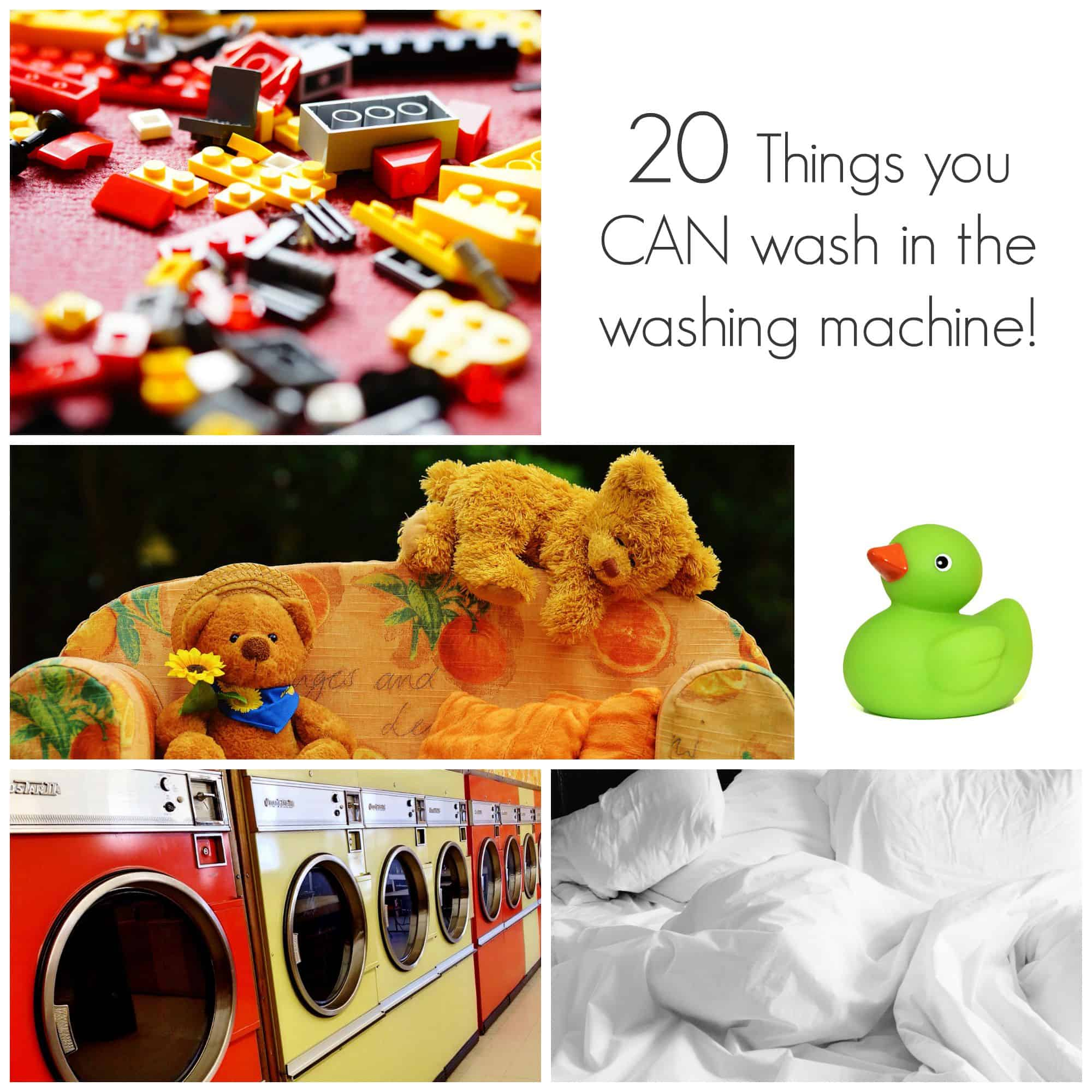 20 Things You Can Wash In The Washing Machine